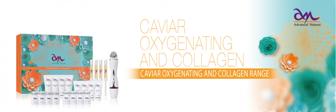 CAVIAR OXYGENATING AND COLLAGEN RANGE